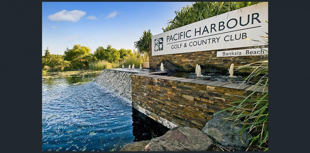 pacific harbour sign